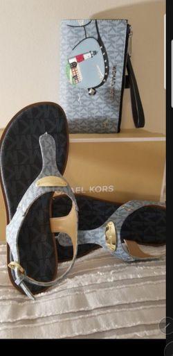 💯AUTHENTIC MICHAEL KORS SET SHOES SIZE 10.M 👉 PRECIO FIRME for Sale in Houston,  TX