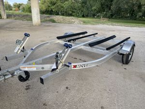 2019 Seadoo Move dual Jetski Trailer Galvanized for Sale in TX, US
