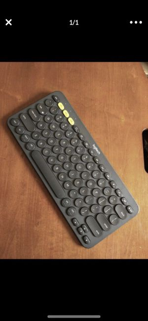 Logitech K380 Bluetooth Keyboard for Sale in Monterey, CA