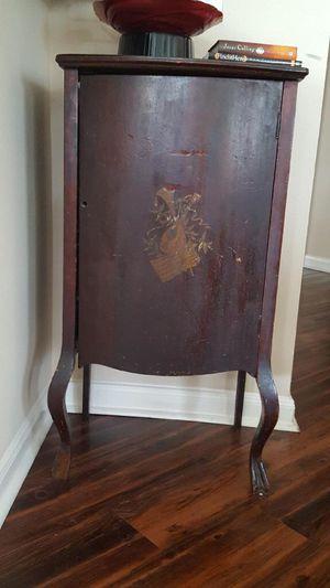 Antique Oak Music Cabinet for Sale in Austin, TX