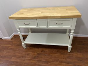 Wood Sofa Table or counter height table for Sale in Frederick, MD