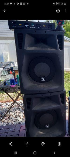 speakers EV sx 500 for Sale in Tampa, FL