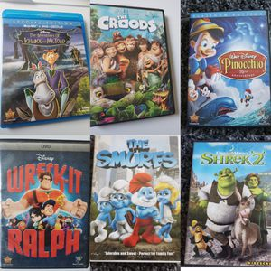 Kids 6 DVD Bundle for Sale in Marceline, MO