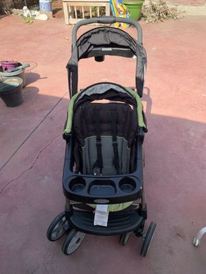 Graco ready to grow click connect double stroller for Sale in Fresno, CA