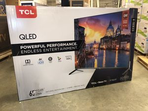 TCL 65-inch 6 Series QLED 4K UHD Smart Roku TV 65R625 for Sale in WILOUGHBY HLS, OH