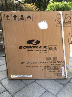 Bowflex 552 Adjustable Dumbbells Pair for Sale in Hackensack, NJ