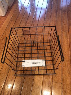 Wire shelf basket for Sale in Washington, DC