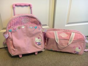 Hello Kitty Luggage Set for Sale in Puyallup, WA