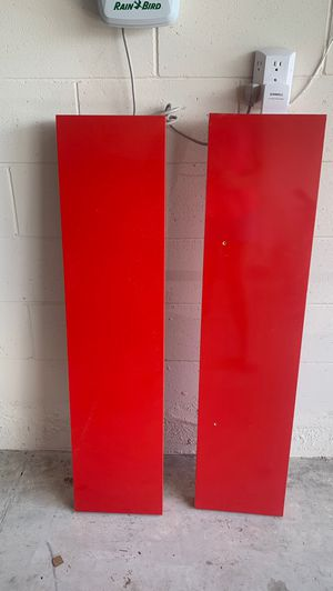 IKEA Red wall shelves for Sale in Kissimmee, FL