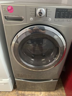 Grey Kenmore front load washer for Sale in Middleburg Heights, OH