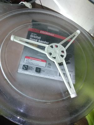 """14"""" big Microwave plate and Center for Sale in San Bernardino, CA"""
