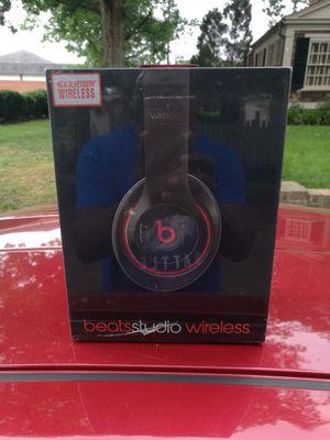 Red/Black - Beats by Dre Studio 2.0 Bluetooth Headphone Earphones Headsets wireless NEW SEALED for Sale in Richmond, VA