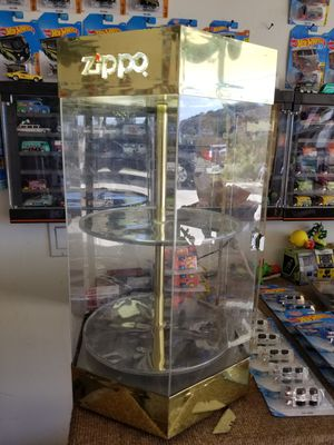 Zippo display case for Sale in Lakeside, CA