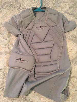 Boys Medium Torso Textion (chest protector) baseball for Sale in Moline, IL