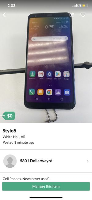 Stylo5 for Sale in White Hall, AR