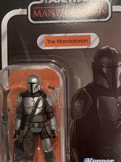 "The Mandalorian Beskar Armor Vintage Black Series *MINT* 4"" 3.75"" Star Wars VC181 Kenner F1095 Action Figure Hasbro retro Disney for Sale in Lewisville,  TX"