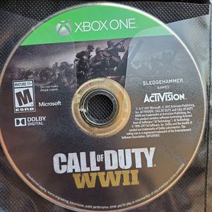 Xbox One COD WW2 for Sale in Fountain, CO