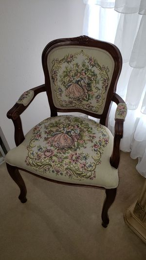 Antique Carved English Adams Style arm chair for Sale in Ruskin, FL