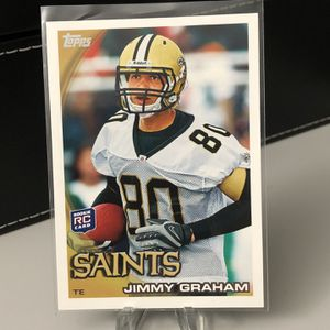 JIMMY GRAHAM 2010 Topps Football Rookie Card 🏈🏈 for Sale in Fort Lauderdale, FL