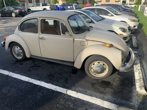 Volkswagen Super Beetle 1974 for Sale in Miami, FL
