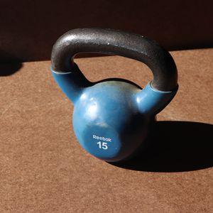 15lb Reebok Kettle Ball Weight for Sale in Mesa, AZ