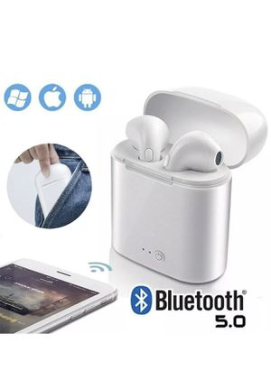Universal Wireless Bluetooth Earbuds for IOS & Android with Charging Box for Sale in Sacramento, CA