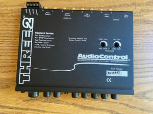 Audiocontrol equalizer for Sale in Modesto, CA