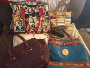 Handbags And Rockville Speaker for Sale in Villas, NJ