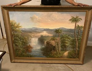 """Moving Sale """"Large Oil Painting"""" for Sale in Hyattsville, MD"""
