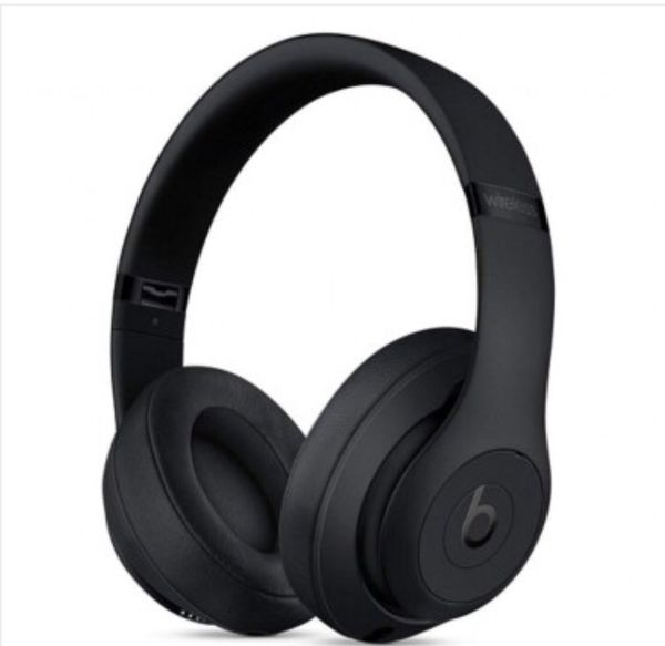Beats by Dr. Dre Studio3 Wireless Foldable Over-Ear Headphones w/Built-in Microphone, Controls & Case (Matte Black)