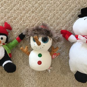 Brand New TY Holidays Stuffed Animals with tags for Sale in Fairfax, VA