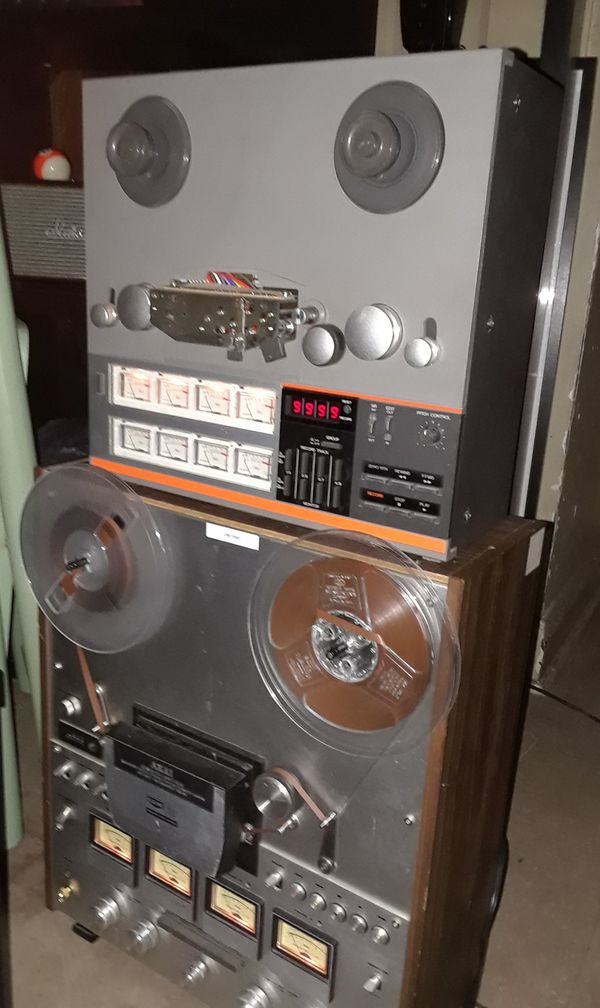 Complete Marantz stereo systems along with JBL and Pioneer speakers and reel-to-reels