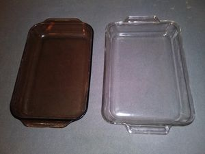 2 (Two) Large Glass Baking Pans for Sale in Boca Raton, FL