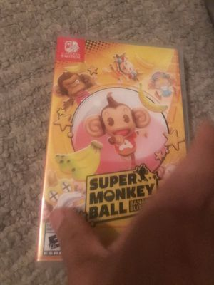Super monkey ball Nintendo Switch for Sale in Fort Worth, TX