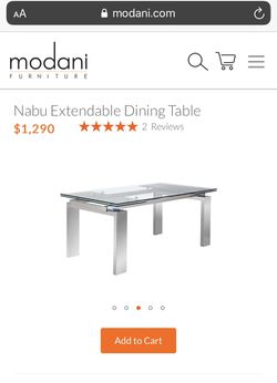 65% OFF- Expendable table barley used! for Sale in Manhattan Beach,  CA