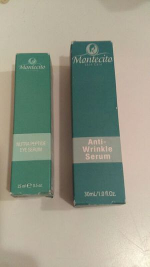 Montecit Anti Wrinkle Serum And Nutra Peptide Eye Serum for Sale in Lakeland, FL