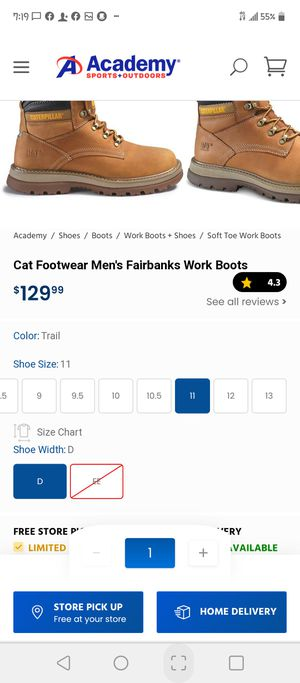 Mens brand new work boots for Sale in Mableton, GA