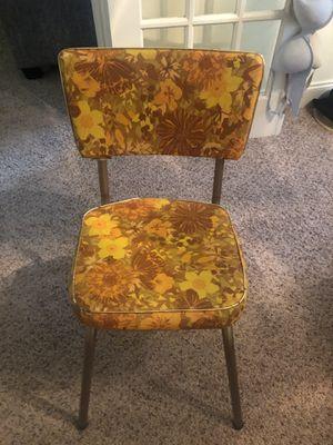 Antique 40's orange table chair for Sale in Atlanta, GA