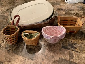 Longaberger baskets for Sale in Allentown, PA