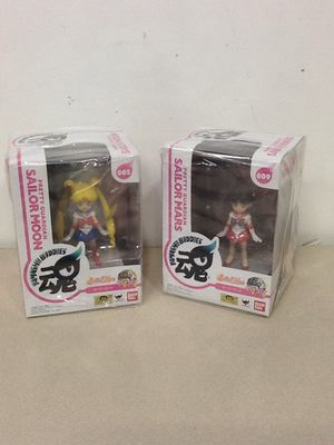 Sailor moon and sailor mars figures for Sale in Vancouver, WA