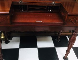 Antique 19 Century Mahogany Writing Desk. for Sale in Tampa,  FL