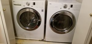 LG gas washer/Dryer king size top of the line for Sale in Fresno, CA