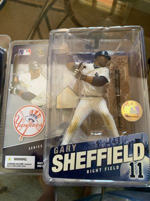 NY Yankees David Sheffield action figure for Sale in Toms River, NJ