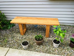 Rustic Wood Garden Bench for Sale in Appleton, WI