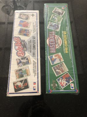 baseball cards complete sets for Sale in Folsom, CA