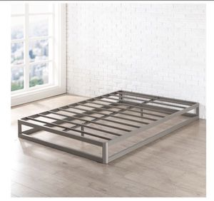 Best Price Mattress 9 Inch Metal Platform Bed Frame (Round Type), Twin Size, A5-115 for Sale in St. Louis, MO