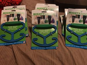 Mighty Handle carry up to 50lbs per handle for Sale in Cleveland, OH