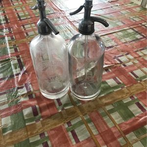 2 Antique Seltzer Bottles for Sale in Brooklyn, NY