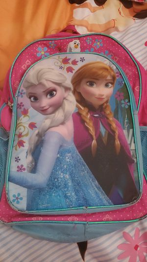 Frozen(Elsa-Ana) Back pack....i have 2 only ea $6 for Sale in West McLean, VA