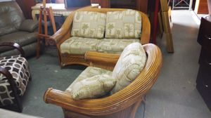 TOMMY BAHAMAS LOVE SEAT AND CHAIR for Sale in Oakland Park, FL